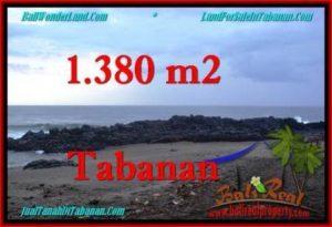 Exotic LAND SALE IN Tabanan Selemadeg BALI TJTB270
