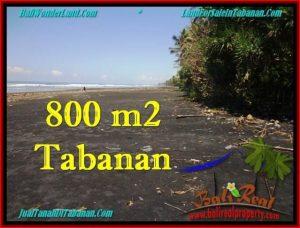 Affordable PROPERTY 800 m2 LAND SALE IN TABANAN BALI TJTB260