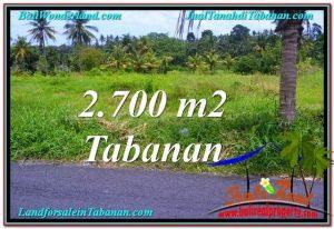 Beautiful PROPERTY TABANAN LAND FOR SALE TJTB301