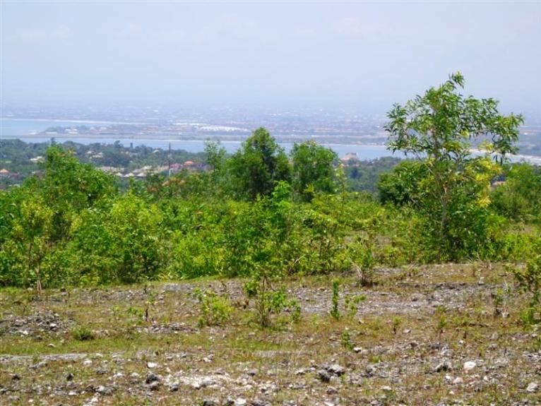 Land in Jimbaran for sale 1,710 sqm Stunning natural view