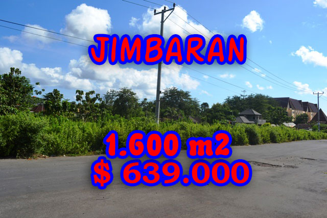 Land in Bali for sale, great view in Jimbaran Bali – TJJI028