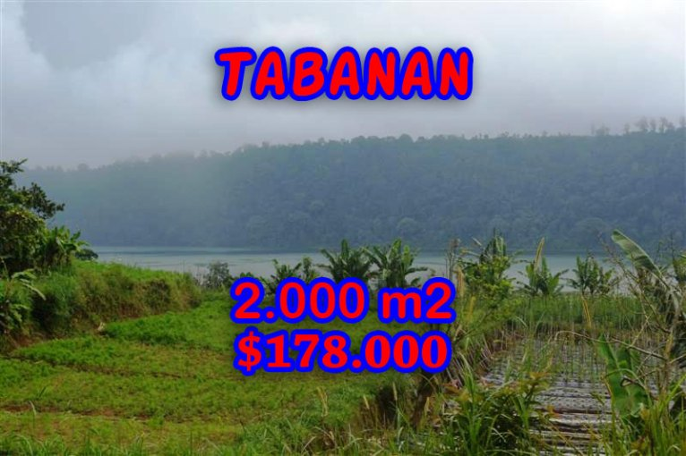 Land in Bali for sale, Astonishing view in Tabanan Bedugul Bali – TJTB061