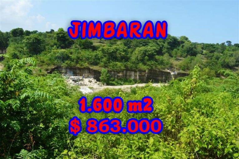 Land in Bali for sale, Extraordinary view in Jimbaran Bali – TJJI031