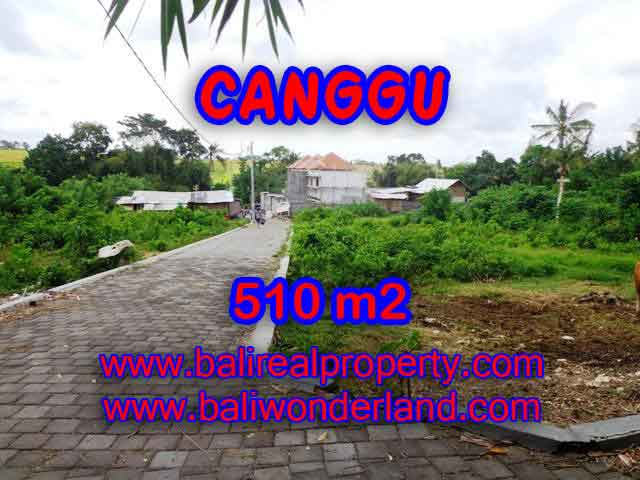 Land in Bali for sale, extraordinary view in Canggu Pererenan – TJCG150