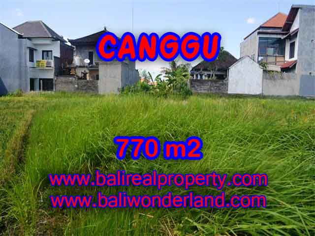 Land for sale in Bali, exceptional view in Kerobokan – TJCG148