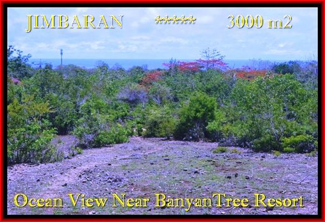 FOR SALE Beautiful 3.000 m2 LAND IN Jimbaran Ungasan BALI TJJI090