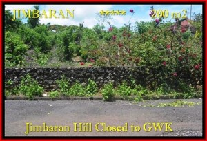 200 m2 LAND IN Jimbaran Ungasan BALI FOR SALE TJJI086