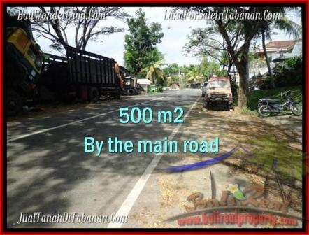 FOR SALE Magnificent PROPERTY 500 m2 LAND IN TABANAN BALI TJTB202