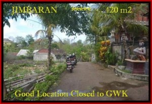 FOR SALE LAND IN JIMBARAN BALI TJJI083