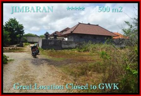FOR SALE Affordable 500 m2 LAND IN Jimbaran Ungasan BALI TJJI084