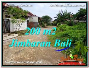 Exotic PROPERTY 200 m2 LAND IN Jimbaran Ungasan BALI FOR SALE TJJI106