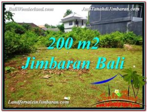 Exotic PROPERTY JIMBARAN BALI 200 m2 LAND FOR SALE TJJI107