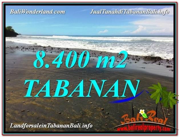 Affordable 8,400 m2 LAND FOR SALE IN TABANAN BALI TJTB326