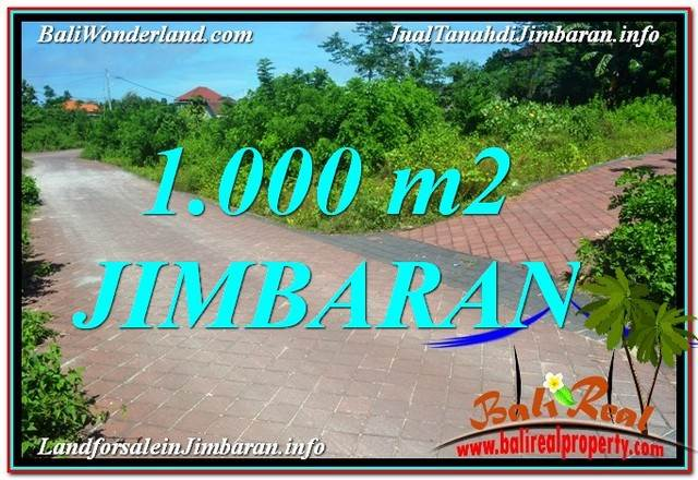 Magnificent PROPERTY 1,000 m2 LAND FOR SALE IN JIMBARAN TJJI111
