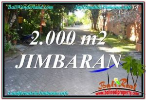 FOR SALE 2,000 m2 LAND IN Jimbaran Uluwatu  BALI TJJI115