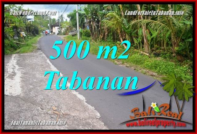 500 m2 LAND IN Tabanan Kerambitan BALI FOR SALE TJTB362