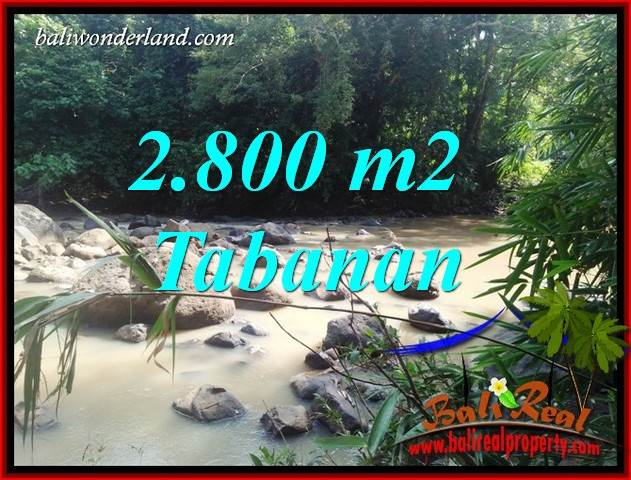 Beautiful Property 2,800 m2 Land sale in Tabanan Selemadeg Bali TJTB411