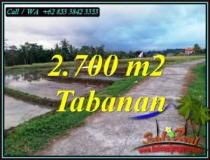 Exotic TABANAN BALI LAND FOR SALE TJTB460