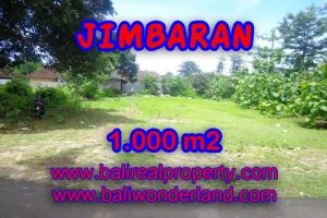 Land in Bali for sale, Stunning view in Jimbaran Bali – TJJI063