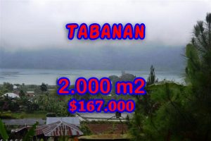 Amazing Land for sale in Bali, natural beauty by the lake in Tabanan Bedugul - Pancasari