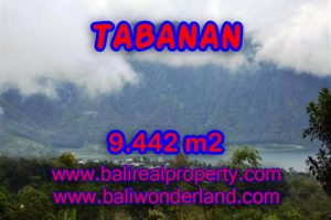 Land in Bali for sale, Astonishing view in TABANAN BEDUGUL Bali – TJTB081