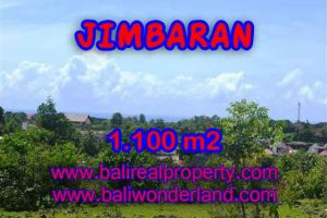 FOR SALE Beautiful PROPERTY 1,100 m2 LAND IN JIMBARAN BALI TJJI067