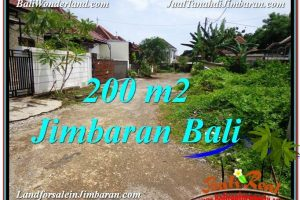 Affordable PROPERTY 200 m2 LAND IN Jimbaran Ungasan BALI FOR SALE TJJI106