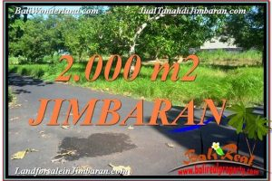 Beautiful PROPERTY 2,000 m2 LAND FOR SALE IN Jimbaran Uluwatu  TJJI114