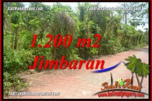 Affordable PROPERTY 1,200 m2 LAND FOR SALE IN JIMBARAN ULUWATU BALI TJJI128A