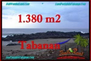 Beautiful PROPERTY 1,380 m2 LAND IN Tabanan Selemadeg FOR SALE TJTB270