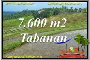 Affordable PROPERTY Tabanan Selemadeg LAND FOR SALE TJTB347