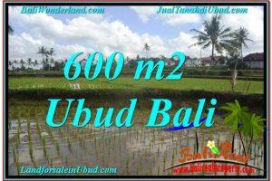 600 m2 LAND FOR SALE IN UBUD BALI TJUB621
