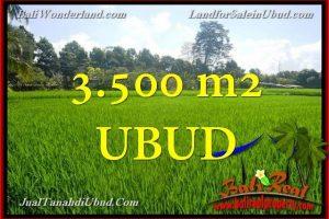 Affordable PROPERTY 3,500 m2 LAND IN UBUD BALI FOR SALE TJUB660