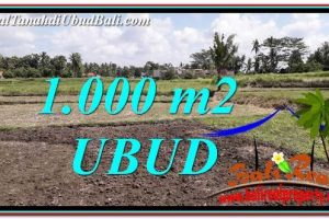 Exotic LAND IN UBUD FOR SALE TJUB765