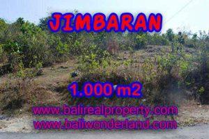 Magnificent PROPERTY JIMBARAN BALI 1,000 m2 LAND FOR SALE TJJI074