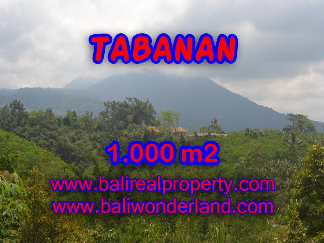 Land for sale in Bali, fabulous view in JATILUWIH TABANAN – TJTB078