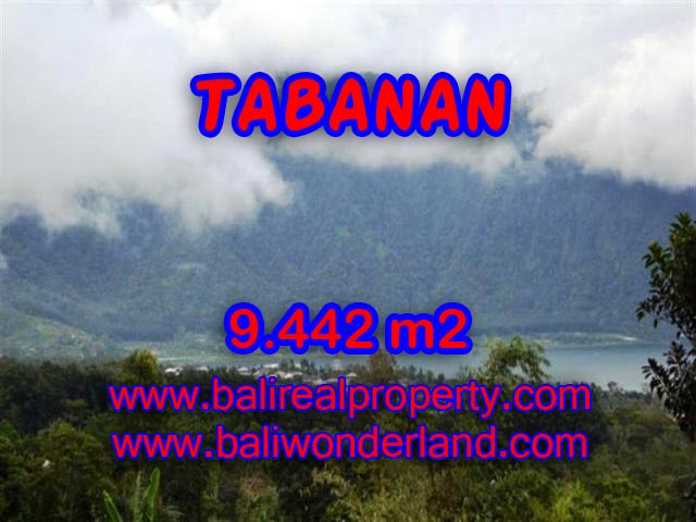 Land in Tabanan Bali for sale, Incredible view in TABANAN BEDUGUL – TJTB081