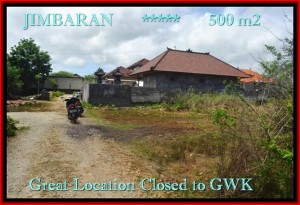 500 m2 LAND FOR SALE IN Jimbaran Ungasan BALI TJJI084