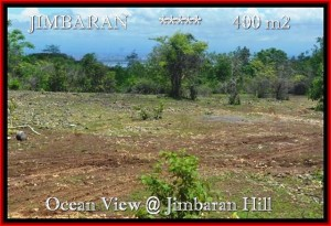 Affordable Jimbaran Ungasan BALI 400 m2 LAND FOR SALE TJJI088