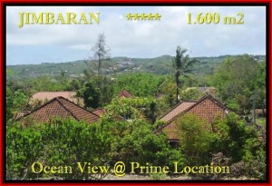 Exotic 1.600 m2 LAND SALE IN Jimbaran Ungasan BALI TJJI089