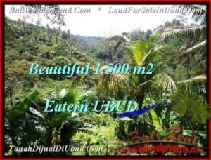 Beautiful UBUD BALI 1,500 m2 LAND FOR SALE TJUB503