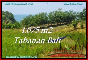 FOR SALE 1,075 m2 LAND IN TABANAN TJTB230