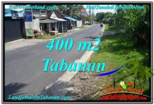 FOR SALE Exotic PROPERTY 400 m2 LAND IN TABANAN BALI TJTB296