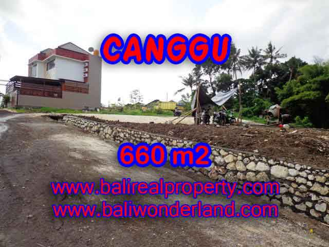 Land in Bali for sale, Outstanding view in Canggu Batu bolong Bali – TJCG149