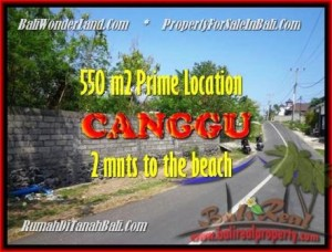 FOR SALE Magnificent LAND IN Canggu Batu Bolong TJCG159