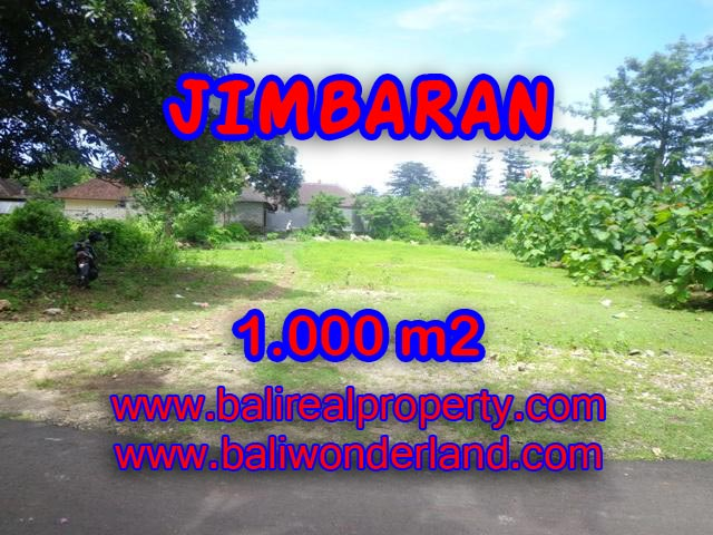 Land in Jimbaran Bali for sale, Exotic view in Jimbaran four seasons – TJJI063