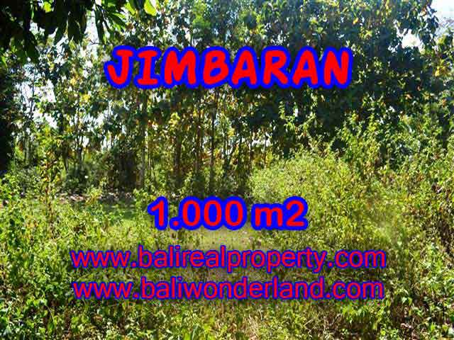 Land for sale in Bali, Fantastic view in Jimbaran Bali – 1.000 m2 @ $ 325