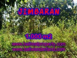 Magnificent Jimbaran Ungasan LAND FOR SALE TJJI071
