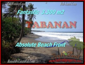 Magnificent 2,345 m2 LAND FOR SALE IN TABANAN BALI TJTB158