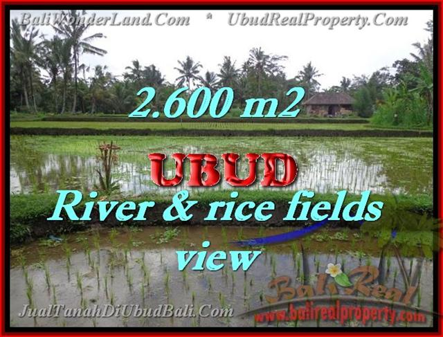 Land in Bali for sale, fantastic view in Ubud Bali – TJUB421